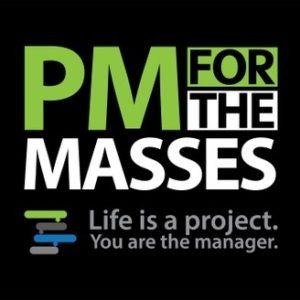 PM for the Masses Podcast logo