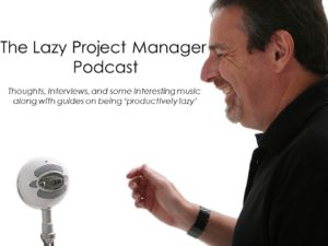 The Lazy Project Manager Podcast logo
